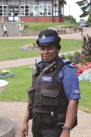 cheshire police PCSO Female