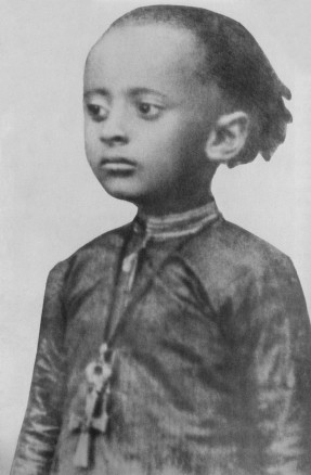 Lij Teferi Makonnen at age 3