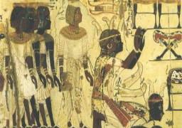Nubians in worship
