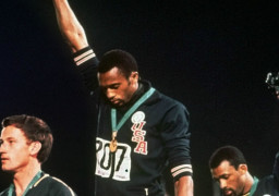 Black Power 1968 Olympics Smith Norman and Carlos