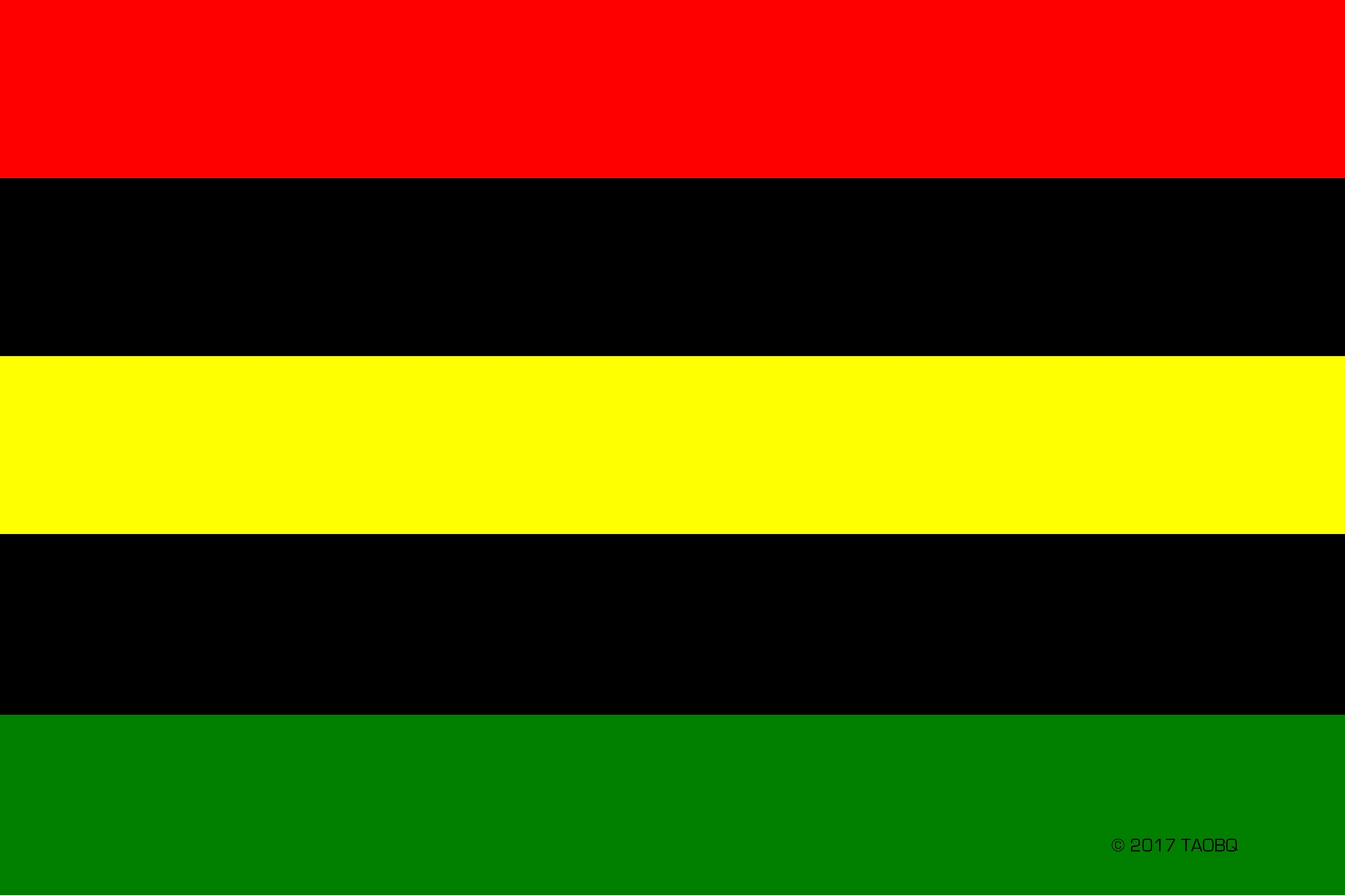 Global African Quad Flag A Visual Signifier Of African