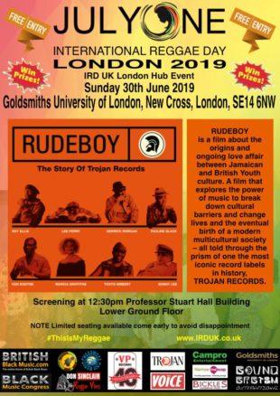 International Reggae Day 2019 @ Goldsmiths - Black History