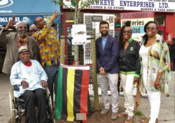 Reggae Tree plaque unveiling