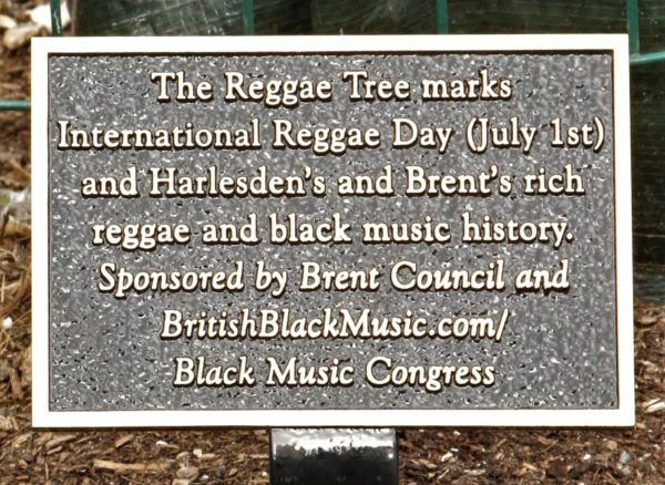 Reggae Tree text