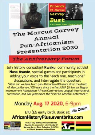 MarcusGarveyAnnualPanAfricanismPresentation2020