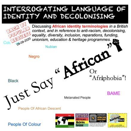 Interrogating Language Just Say 09 09 2020